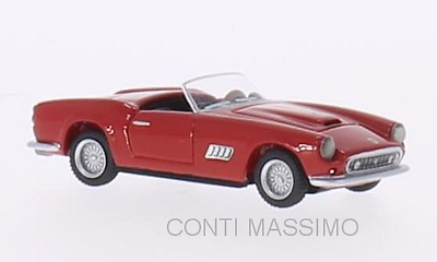 1/87 Packing Of Nominated Brand Ferrari 250gt Lwb California Spyder - Resin red 87100 Bos-models