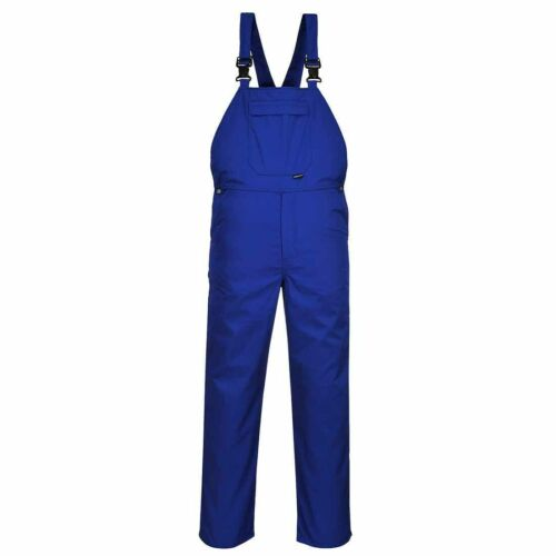 Portwest-Burnley Workwear Bib and Brace Dungarees Overall Combinaison