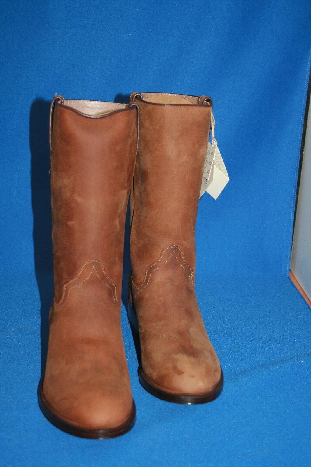 TONY TONY TONY MORA Boots Stiefel westernstiefel cowboystiefel  gr. 42  neu  leder nobuk 1312c6