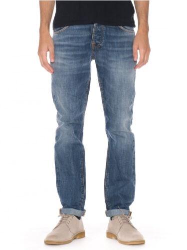 NUDIE Homme Regular Fuselé Fit Jeans Pantalonsteady eddie Crispy Crumble