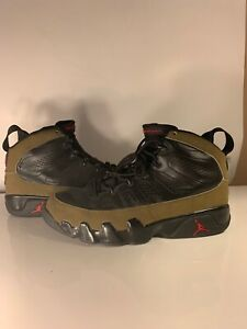 100% authentic 5ae71 b7b12 Details about Jordan 9 Olive Size 11 2001