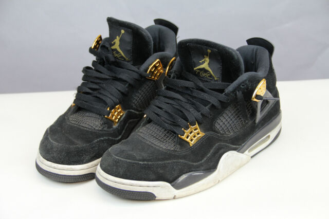 184559dd914fbd Nike Air Jordan 4 Retro Royalty (308497-032) Men s Shoes Black Metallic