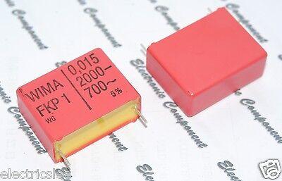 2pcs WIMA FKP1 0.01uF 0,01µF 10nF 2000V 5/% pitch:27.5mm Capacitor
