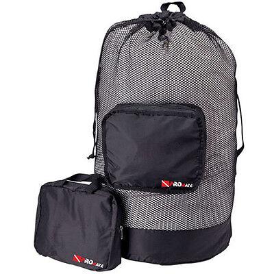 Retractable Mesh Gear Bag for Mask Fins Snorkel SCUBA Freedive Swimming Backpack