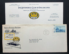 US AAA Cover FDC Chicago Automobile Association Stamp USA Ersttagsbrief (H-7306+