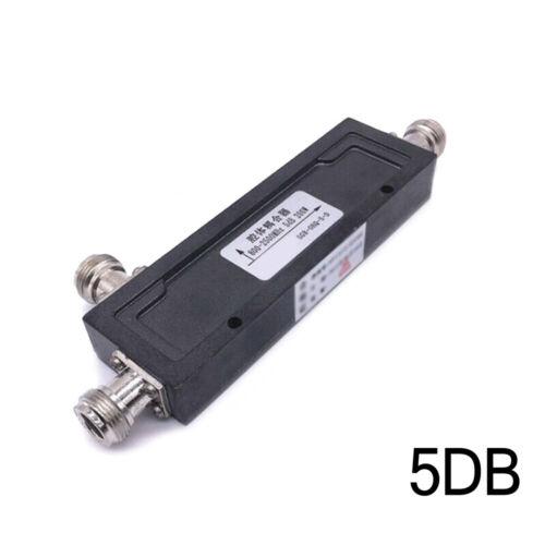 1 Pc Mobiltelefon RF Koaxial Richtkoppler 800-2500MHz 200W 10//20//30// 40DB Tool