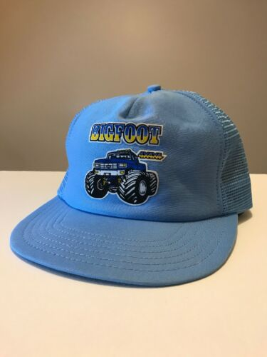 Vintage 80's Bigfoot Monster Truck Trucker Mesh Sn