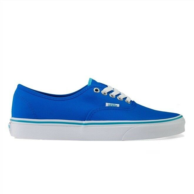 VANS AUTHENTIC (POP) NEON NEON (POP) Blau TRAINERS 8dceef