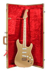 1989 Fender Custom Shop Homer Haynes HLE Stratocaster Gold Mint w/ Original Box