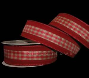 image is loading 10 yards red velvet becky gingham country rustic
