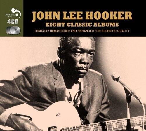 JOHN LEE HOOKER - 8 CLASSIC ALBUMS 4 CD NEW!