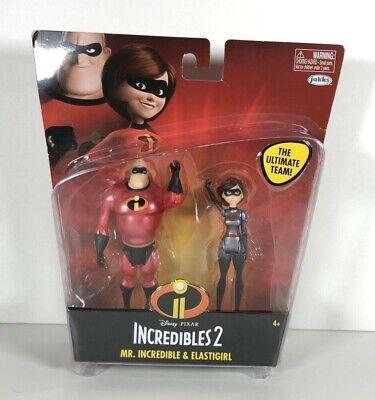 Incredible /& Elastigirl New Disney Pixar Incredibles 2 The Ultimate Team Mr
