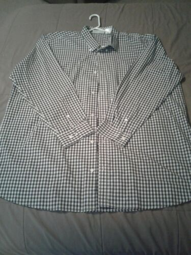 Mens Long Sleeve Shirt UNIFORM WORKS 3XL xxxl Blac