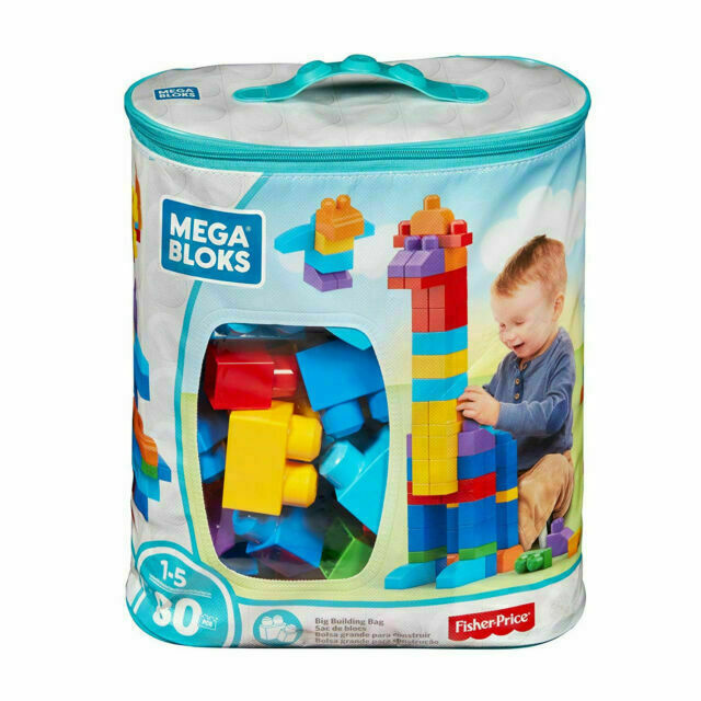 Mega Bloks DCH63 Building Bag Set