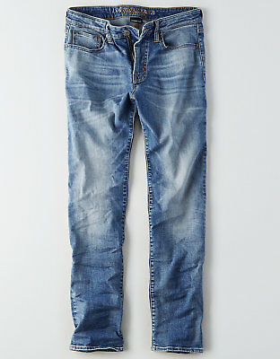 NWT American Eagle Men's Extreme FLEX Original Straight Jeans 36 x 32 (4048)