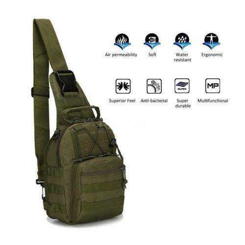 Outdoor Backpack Shoulder Military Travel Camping Hiking Trekking Bag... - s l1600