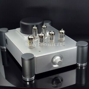 Vacuum-Tube-Preamplifier-Tube-Preamp-20Hz-30KHz-with-6N4-12AU7-Tubes-Assembled
