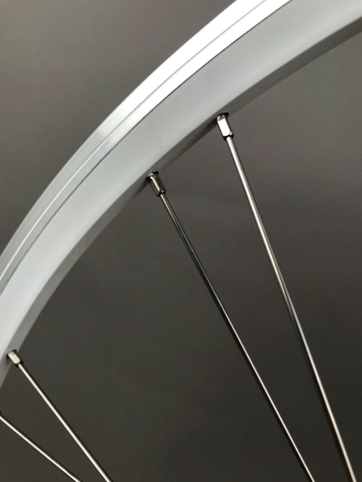 Image 4 - Mach1 Omega Fixed Freewheel Track Single Speed Bike Rear Wheel Clincher 28 Spoke