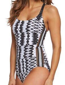 Costume Gottex White Back Tank One donna Y Black Profile Piece bagno da Noise rt0wq6OFr