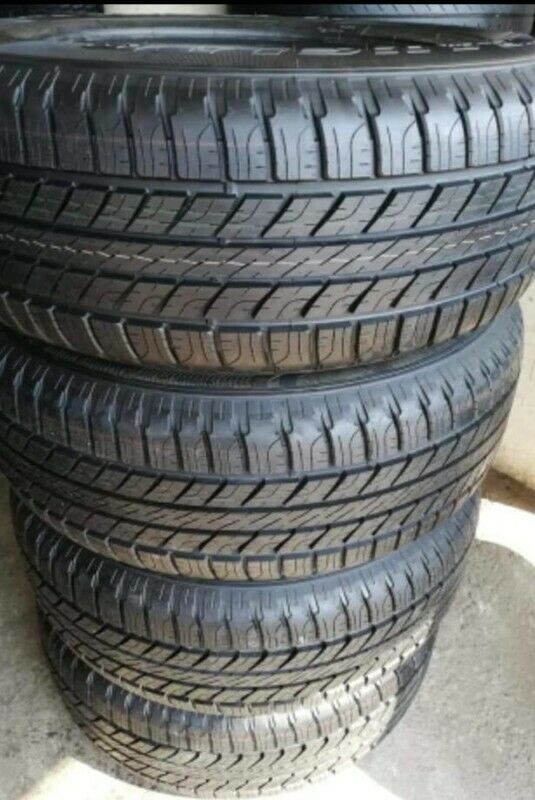 265/65/17 Goodyear Wrangler Hp all weather brand new set R5999.