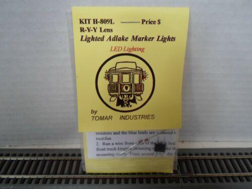 Tomar LED lighted adlake marker lights kit  R-Y-Y Lens