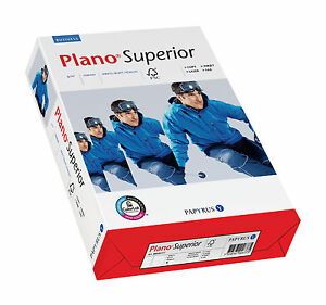 Plano Superior Druckerpapier Papier 60 70 80 90 100 120 160 200g/m² DIN-A4 weiß
