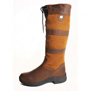 New-Dublin-Tall-River-Boots-Brown-Various-Sizes