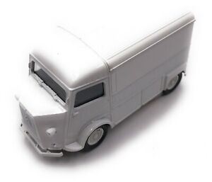 Citroen-Type-H-Modele-Fourgonette-a-Plateau-Camper-Blanc-Auto-Masstab-1-3-4