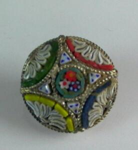 alter-Murano-Millefiori-Brosche-Mosaik-Brosche-Nr-10