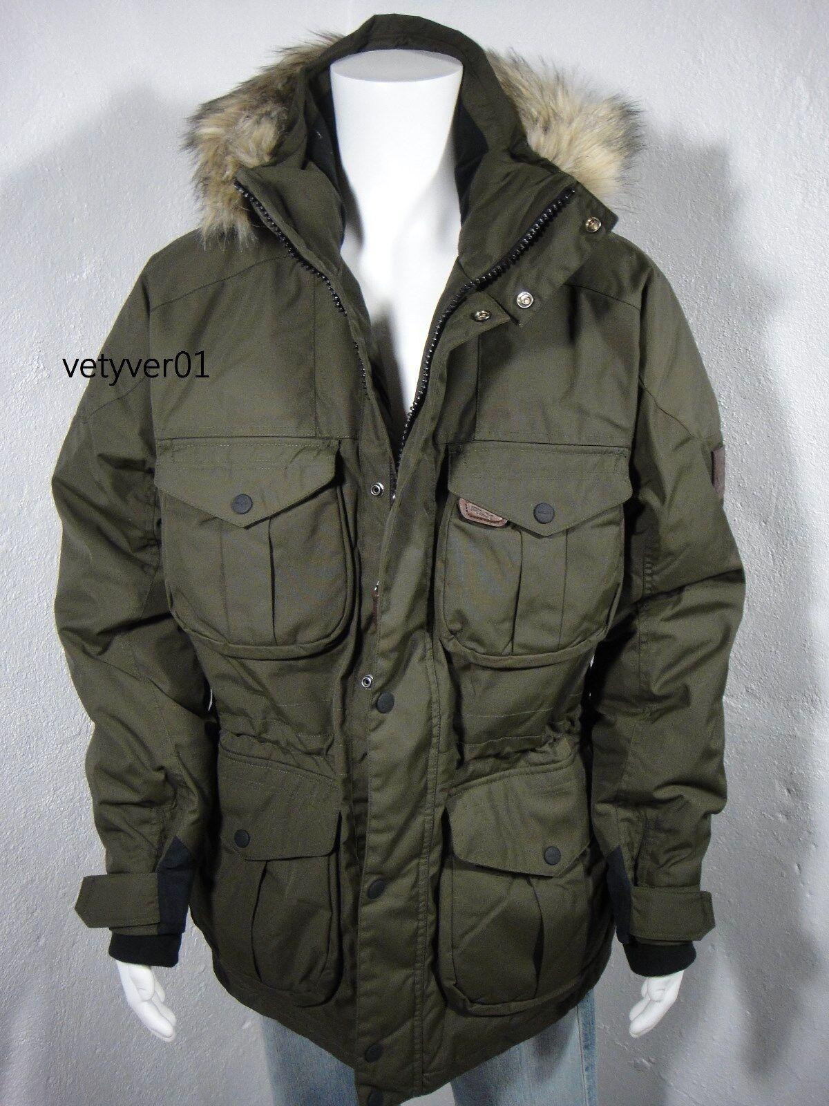 New Polo RALPH LAUREN Fur RLX Ranger Military Fur LAUREN Trim Hooded Down  Parka Grün 841b9b5928