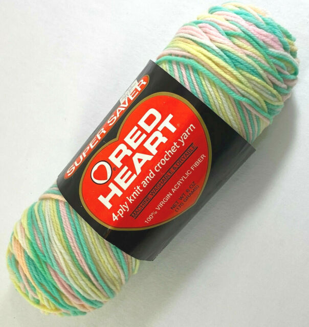 """Set Of 3/"""" /""""Red Heart Super Saver Yarn-Pink Camo"""