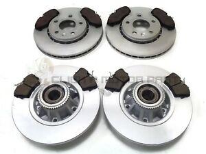 Para Opel Vivaro 1.6 CDTI 14-Trasero Discos De Freno Almohadillas ABS Sensor 280mm Rodamiento