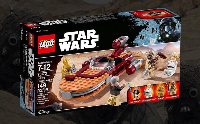 New Star Wars Lego 75173 Luke's Landspeeder 149 pcs Tusken Raider Obi-Wan Rare