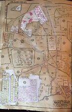 1927 BELCHER HYDE ATLAS MAP LONG ISLAND MOTOR PARKWAY GLEN OAKS QUEENS FARM NY