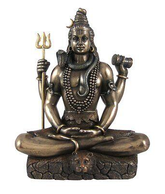 3.25 Inch Small Shiva Sculpture Statue Hindu Deity Hinduism God Decor