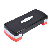 Tenive 27'' Fitness Aerobic Step Adjust Workout Exercise Stepper W/risers