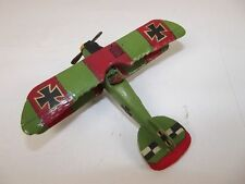Givejoy Toys Skybirds 1/72nd Scale Aircraft Albatros D.V Green/Red Made 1935-42