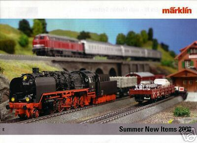 Marklin Summer 2006  New Items  Catalogue