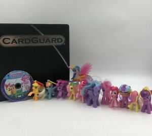 My Little Pony Lot Minis with Trading Cards and Movie- 13 Total Ponies