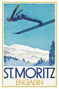 St-Moritz-Engadin-esqui-Chapa-escudo-Escudo-Tin-sign-20x30cm-cc0404