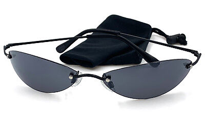 e99857c75 Details about Matrix Neo Sunglasses - Matrix Reloaded Movie Style Sunglasses  w/Bag - NEW!