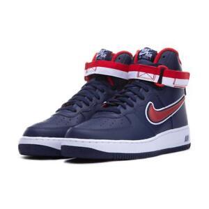 buy online 16003 7df47 AV3938-400} Men's Nike Air Force 1 High Midnight Navy *NEW* | eBay