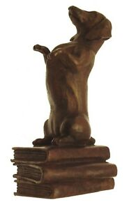 Dachshund-Figurine-Bronze-Ornament-Dog-Figurine-Dog-Ornaments