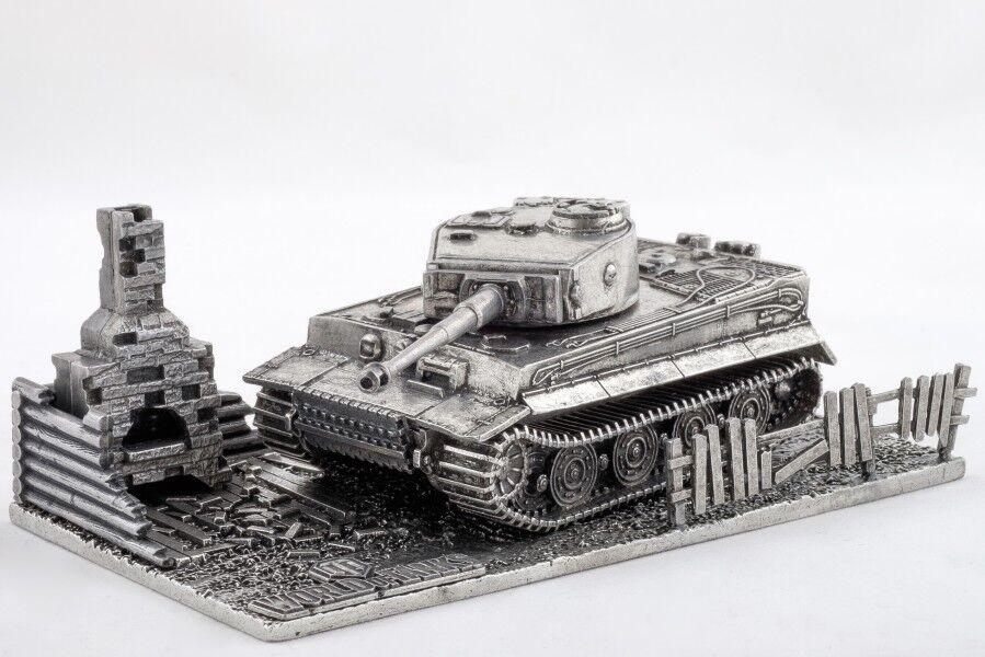 presentando toda la última moda de la calle Mundo de tanques de la Segunda Guerra Mundial Modelo Modelo Modelo de Metal de 1 72 tanque pesado alemán Tiger Con Soporte  Con 100% de calidad y servicio de% 100.