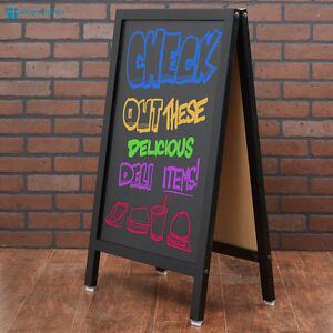 20 x 34 a frame chalkboard sidewalk sign double sided folding menu