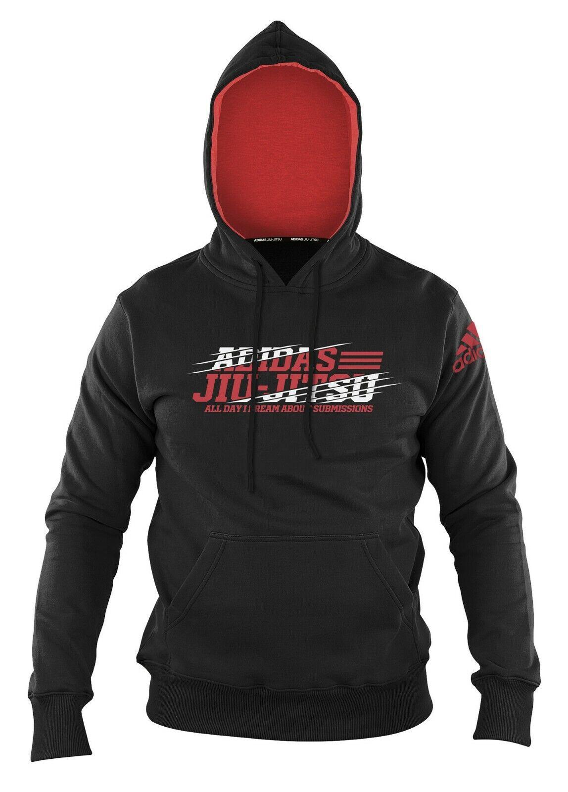 Adidas Hoody Jiu-Jitsu  Flash  schwarz rot adiCSH03 adiCSH03 adiCSH03  - Hoodie - BJJ-Hoodie 4931d1