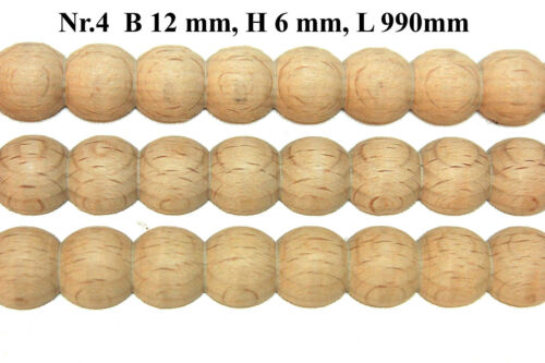 Creazione di Profilo in Faggio Listelli Ornamentali Schnitzleisten