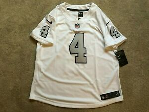 reputable site 8de2c ebaec Details about Nike Derek Carr Oakland Raiders NWT VAPOR Jersey COLOR RUSH  $145 Women Large L