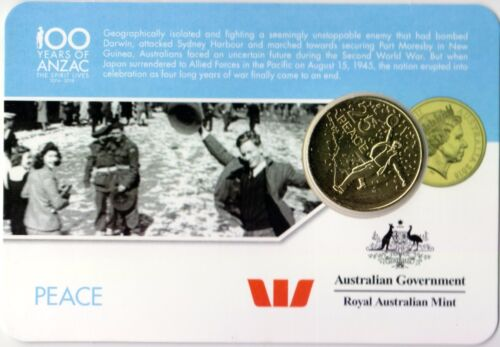 PEACE 25c Coin 2016 Anzac to Afghanistan Coin Series DAY 14