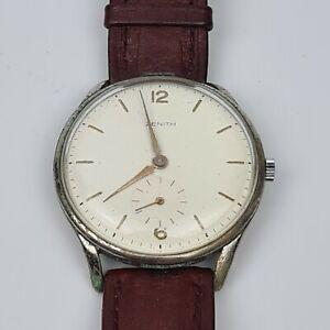 Antico Orologio da Polso ZENITH Vintage Funzionante CARICA MANUALE DA COLLEZIONE